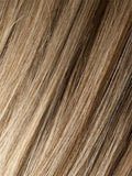 SANDY-BLONDE-ROOTED (20.22.14) - Medium Honey Blonde, Light Ash Blonde, and Lightest Reddish Brown blend with Dark Roots