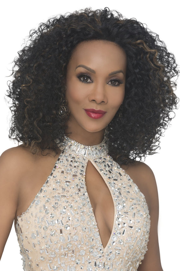 AKRON-V by Vivica A. Fox - Lace Front Heat Friendly Synthetic Wig