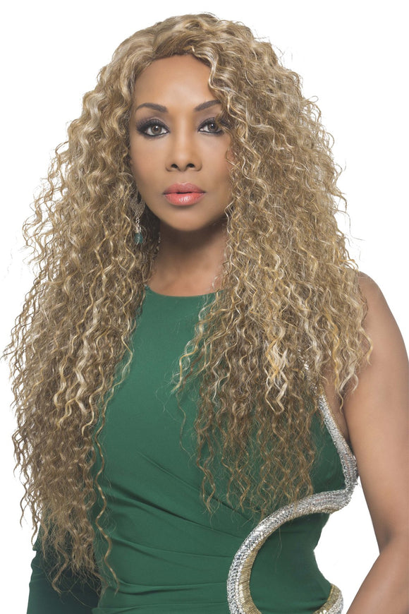 BELDA by Vivica A. Fox - Stretch Cap Heat Friendly Synthetic Wig