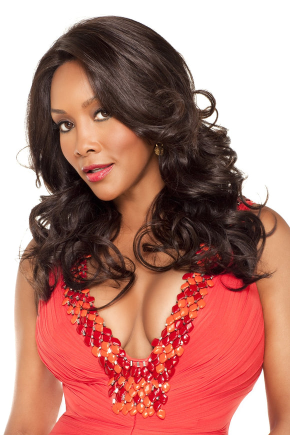 BELLAGIO-V by Vivica A. Fox - Lace Front Remy Human Hair Wig