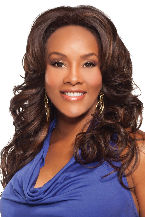 BRIGHT-V by Vivica A. Fox - Lace Front Heat Friendly Synthetic Wig
