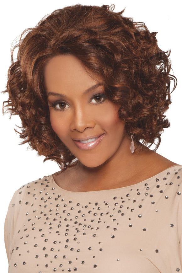 CHANTE-V by Vivica A. Fox - Lace Front Remy Human Hair Wig