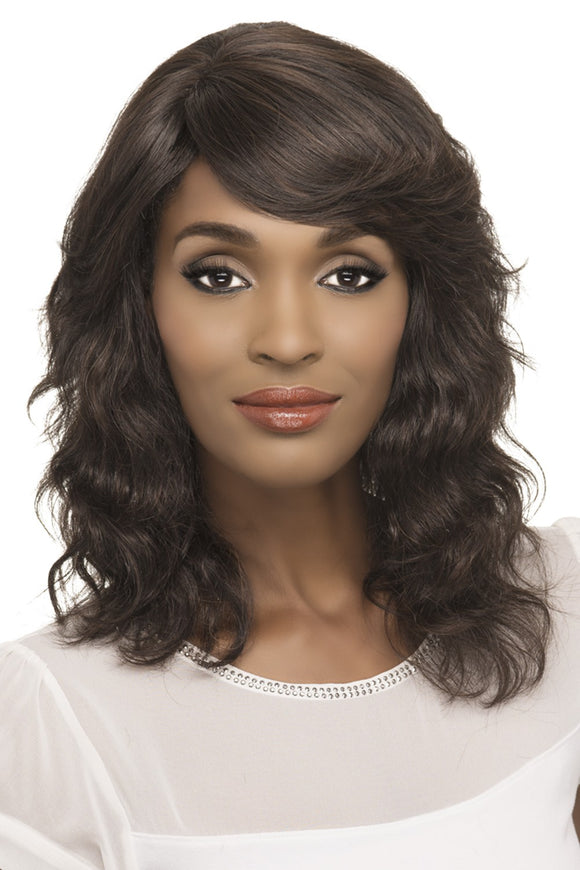 DIVA by Vivica A. Fox - Stretch Cap Remy Human Hair Wig