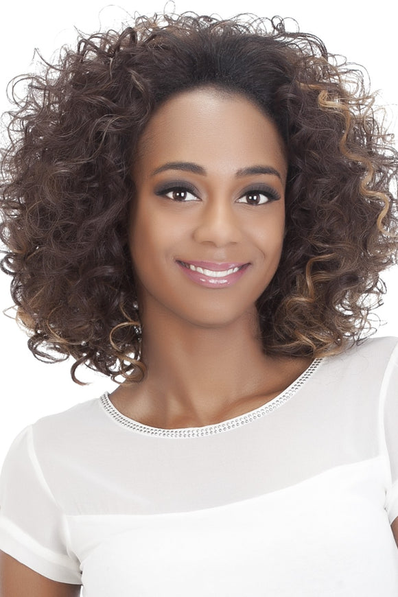 FHW-DARCI by Vivica A. Fox - Heat Friendly Synthetic Partial Wig