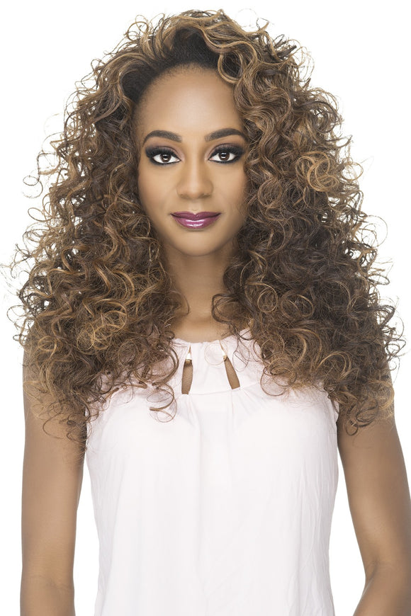 FHW-LEO by Vivica A. Fox - Heat Friendly Synthetic Partial Wig