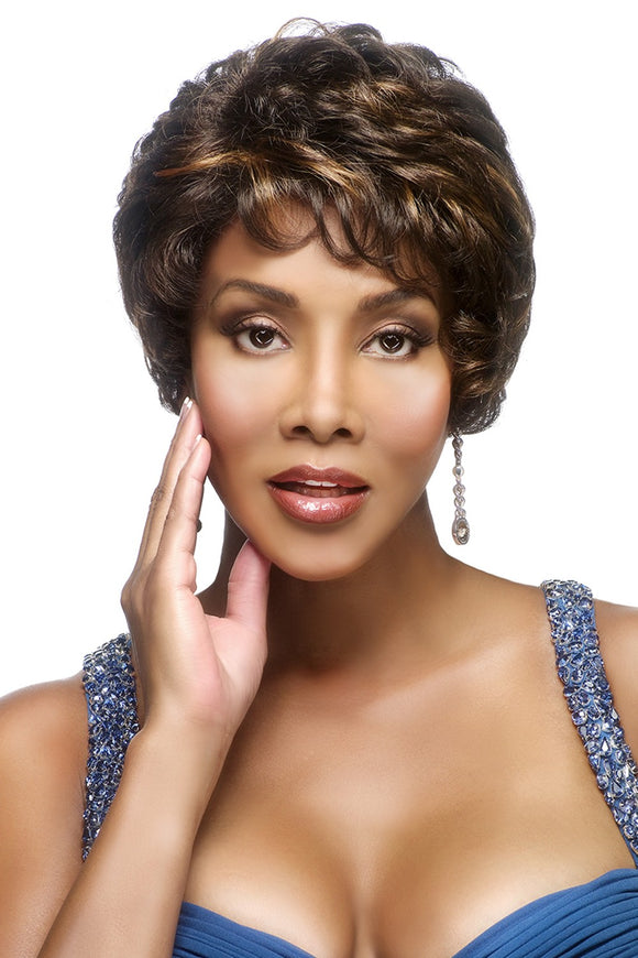 FRANCYNE-V by Vivica A. Fox - Stretch Cap Synthetic Wig