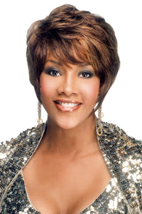 H311-V by Vivica A. Fox - Stretch Cap Human Hair Wig