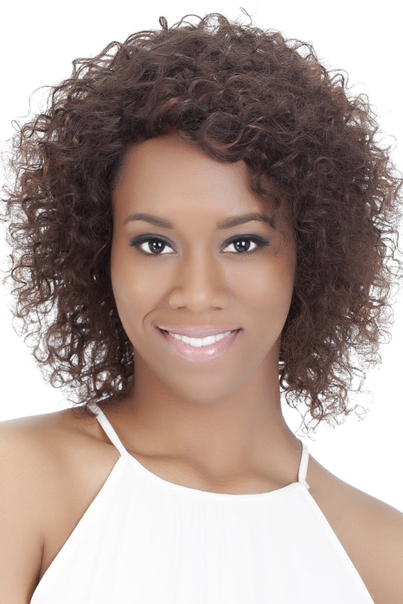 HH-BRITTA by Vivica A. Fox - Stretch Cap Human Hair Wig