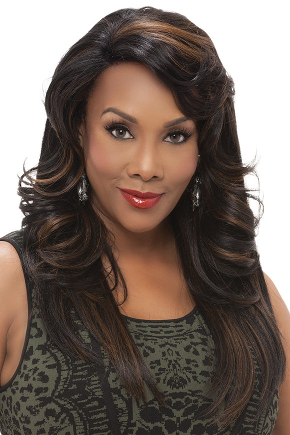 JENNIFER by Vivica A. Fox - Lace Front Heat Friendly Synthetic Wig