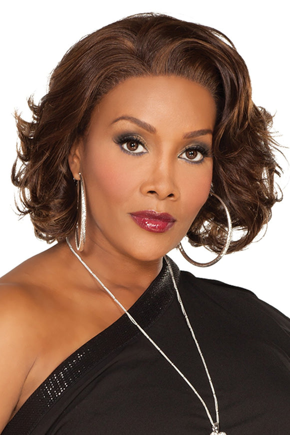 LESLEE-V by Vivica A. Fox - Lace Front Remy Human Hair Wig