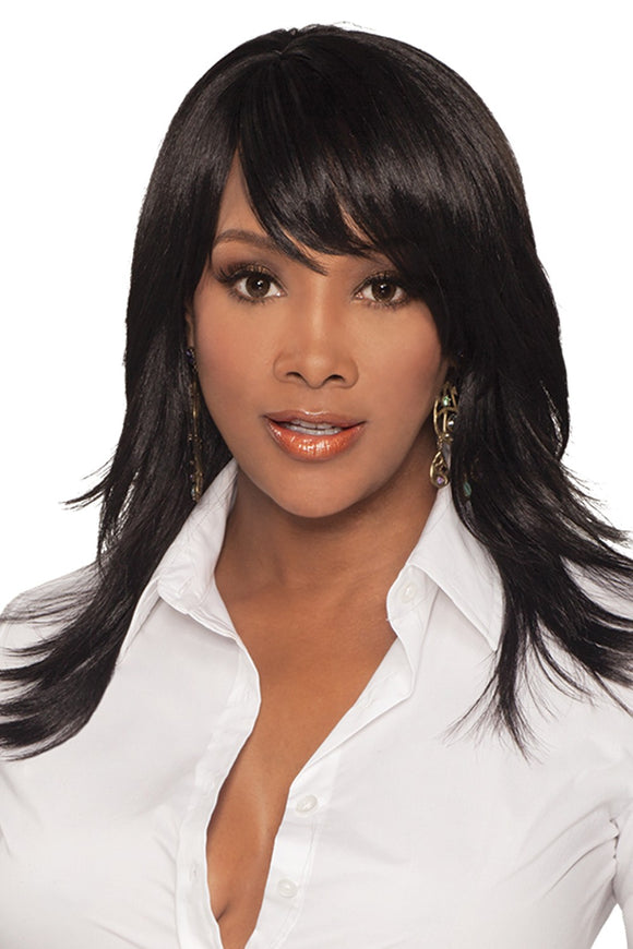 MERLE-V by Vivica A. Fox - Stretch Cap Synthetic Wig