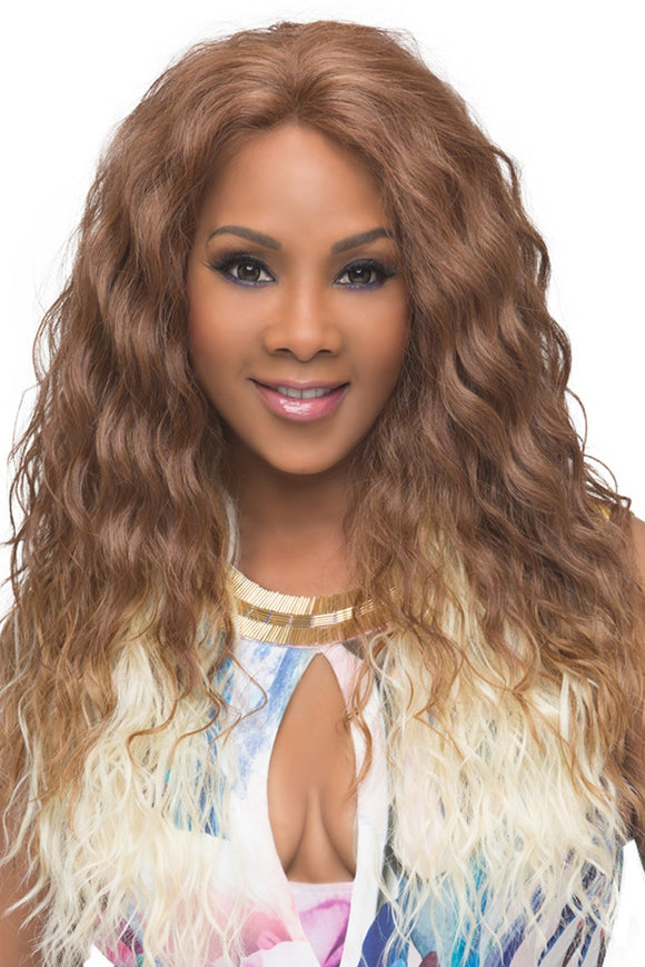 OLIVIA-V by Vivica A. Fox - Lace Front Heat Friendly Synthetic Wig