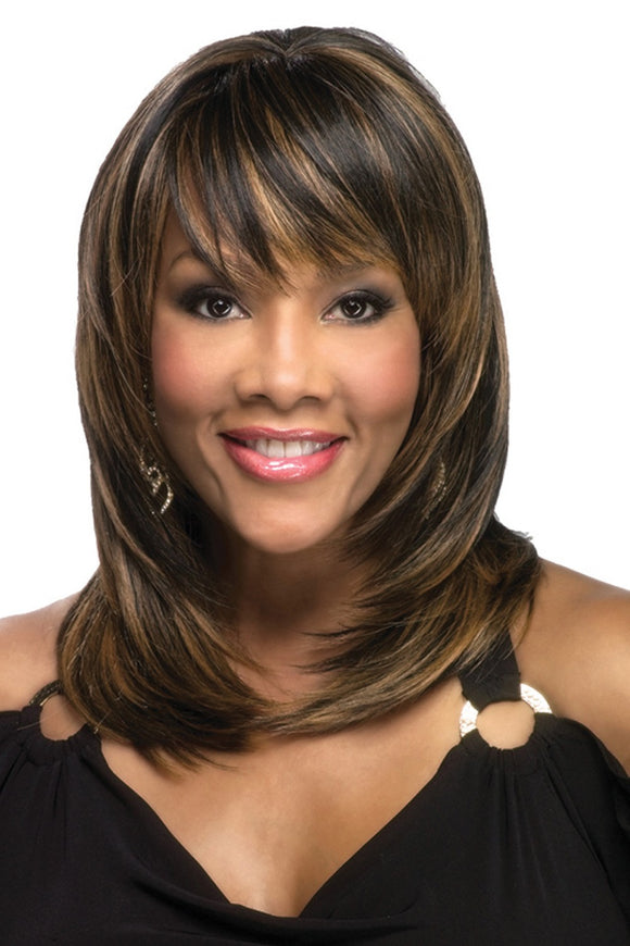 RUMER-V by Vivica A. Fox - Stretch Cap Heat Friendly Synthetic Wig