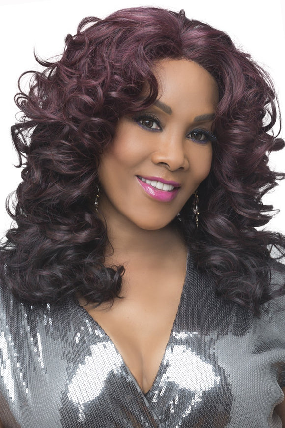 SERENITY by Vivica A. Fox - Lace Front Heat Friendly Synthetic Wig