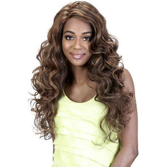 AL-MOESHA by Vivica A. Fox - Lace Front Heat Friendly Synthetic Wig