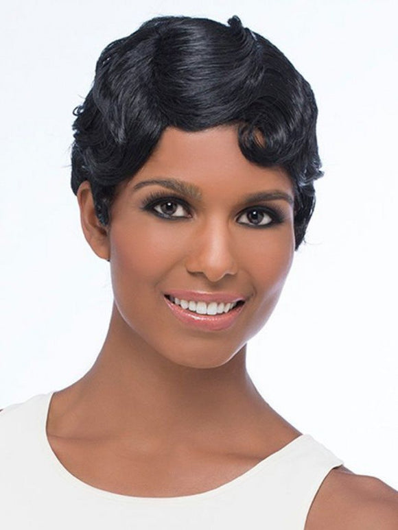 HHA-REENA by Vivica A. Fox - Stretch Cap Human Hair Wig