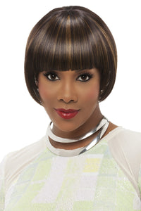 WP-LUCY-V by Vivica A. Fox - Weave Cap Heat Friendly Synthetic Wig