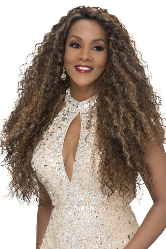 WP-TAYLOR by Vivica A. Fox - Weave Cap Heat Friendly Synthetic Wig