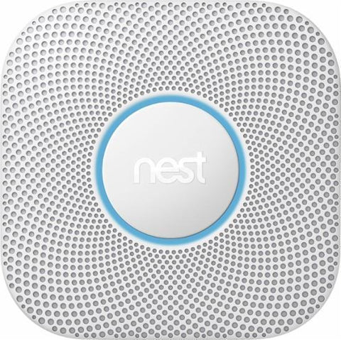 Nest - Protect 2nd Generation Smart Smoke/Carbon Monoxide Alarm - White