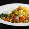 Curried Vegetables with Garam Masala & Panch Poran