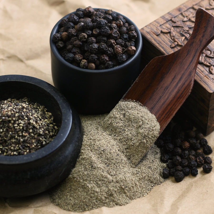 Pepper and Peppercorns - The Silk Road Spice Merchant