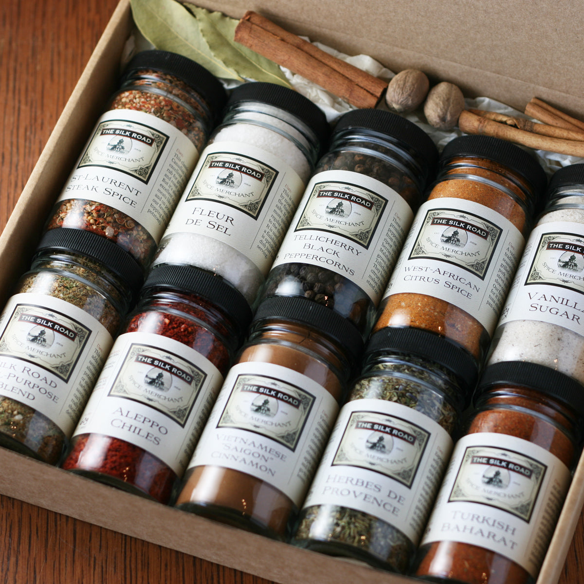 Deluxe Silk Road Spice Set