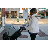 Soft Fleece Lined & Waterproof Stroller Hand Muff - with clear phone slot ideal for any stroller
