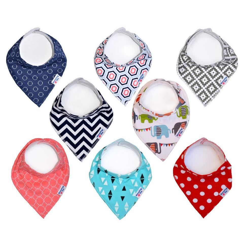 Pet Dog Cat Puppy Bandana Bibs Adjustable Cotton Triangle Scarfs with Fleece Backing for Small Dogs and Cats, Dog Collar Drool Dribble Bibs Pet Accessories