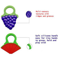 Soft Chew Silicone Baby Fruit Teether for Infants