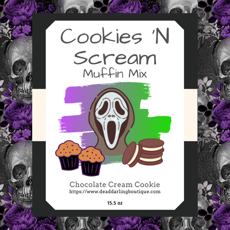 Cookies 'N Scream Muffin Mix