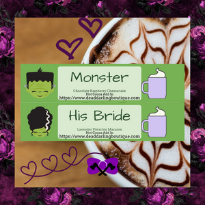 Monster and His Bride Hot Cocoa Add-Ins