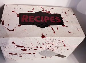 Horror Recipe Box
