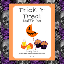 Trick 'R Treat Muffin Mix