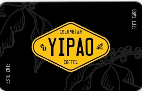 Yipao Coffee® Gift Card
