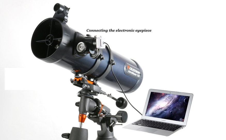 The new astromaster 130eq reflector astronomical telescope
