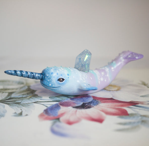 Magical Narwhal Figurine