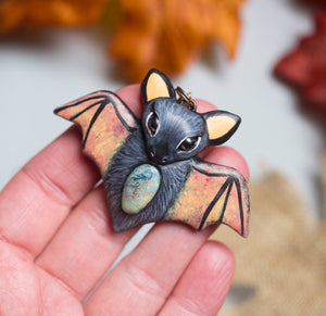 Monarch Bat Necklace