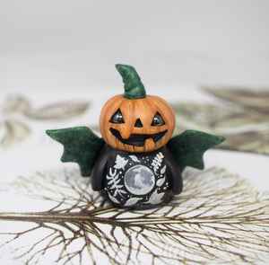 Pumpkin Man Figurine