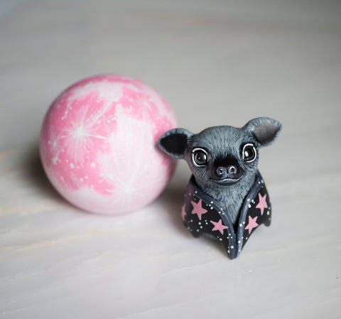Pink Moon Bat Set