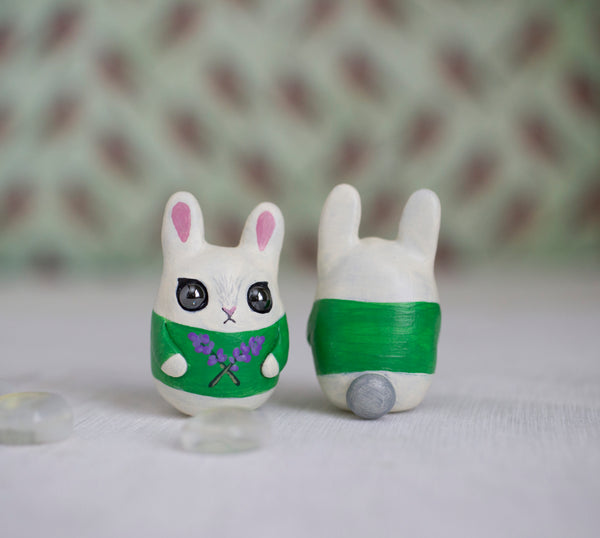 Tiny Bunny Figurine