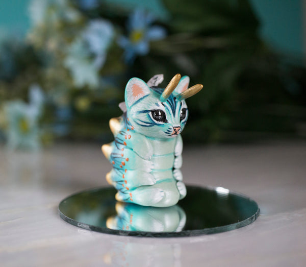 Crystal Caterpillar Figurine