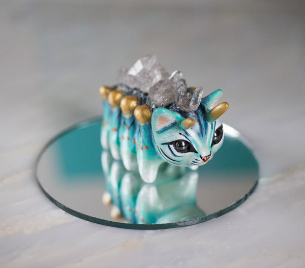 Crystal Caterpillar Figurine #2