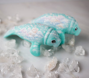 Cloud Surfing Manatee Figurine
