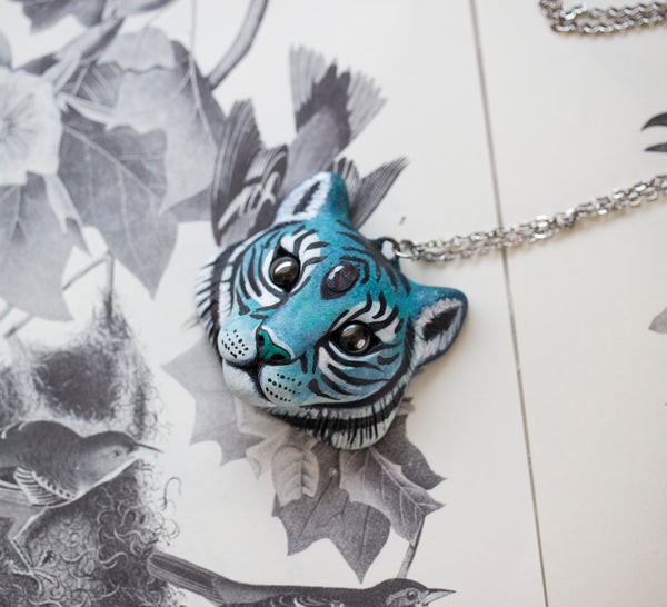 Tanzanite Tiger Necklace