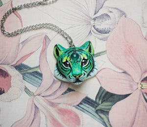 Onyx Tiger Necklace
