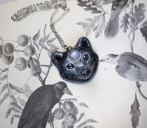 Starry Bear Necklace