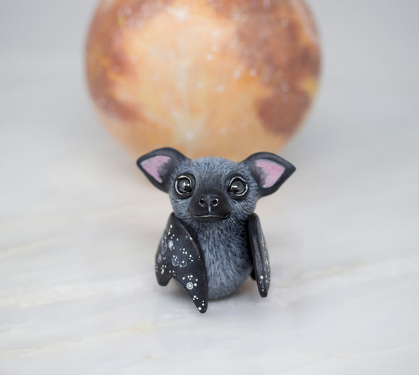 Black Bat Figurine