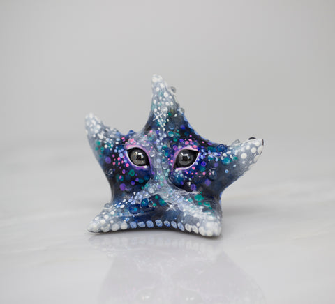 Starry starfish figurine