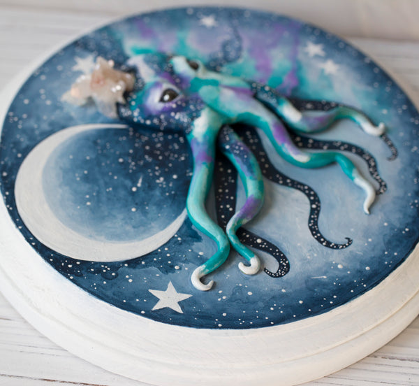 Dreamland Octopus painting