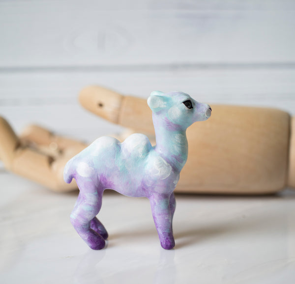 Cotton Candy Camel Figurine